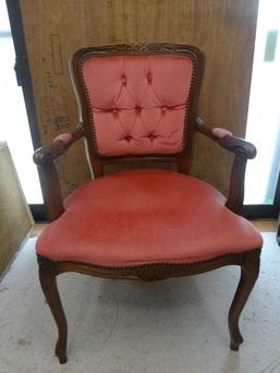 椅子の背もたれ・座面張替